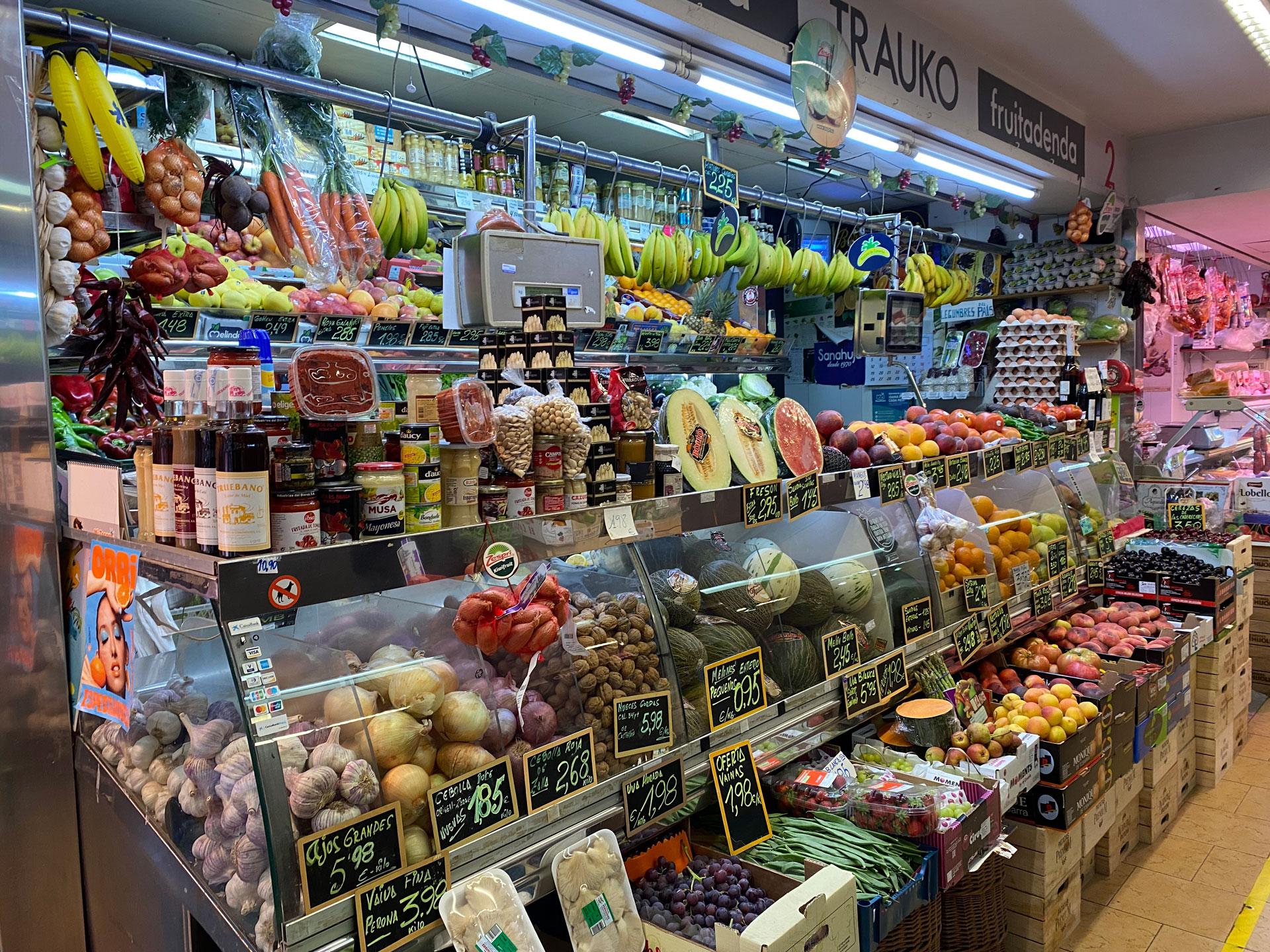 Mercado de Trauko