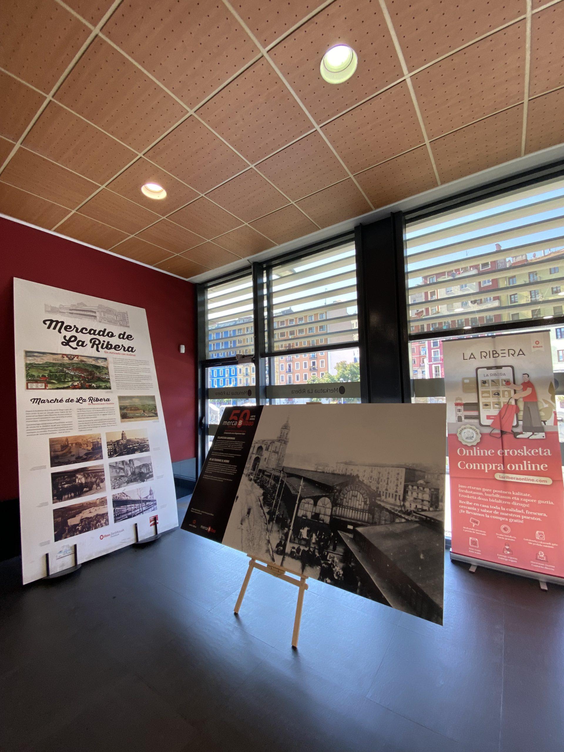 Exposición de fotografía en el Mercado de la Ribera